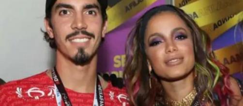 Anitta assume relação com Gabriel David. (Arquivo Blasting News)