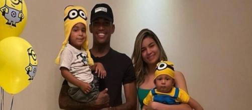 Filho de 9 meses de Raniel do Santos está na UTI. (Arquivo Blasting News)