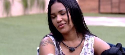 Flayslane fala sobre Gizelly com Prior. ( Reprodução/TV Globo )
