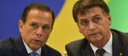 Governador de SP recebe ameças de morte após trocar farpas com Jair Bolsonaro. (Arquivo Blasting News)