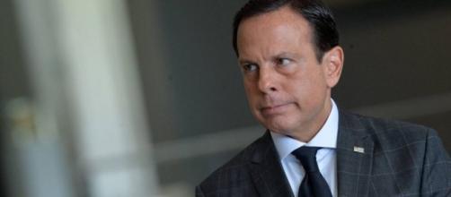 Governador João Doria discutiu recentemente com o presidente Jair Bolsonaro. (Arquivo Blasting News)