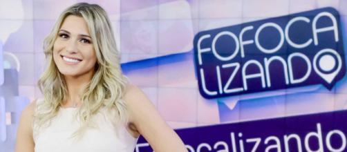 Lívia Andrade completa 2 anos de 'Fofocalizando' e fala sobre marca. (Reprodução/SBT)