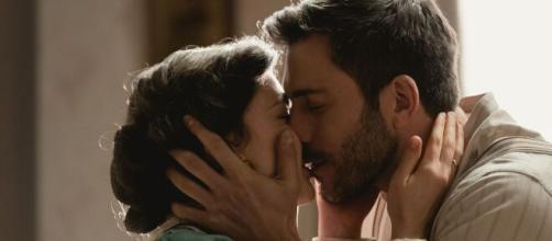 Una Vita, spoiler al 3 aprile: Telmo e Lucia faranno l'amore per la prima volta