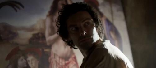 Aidan Turner è Leonardo Da Vinci nella nuova serie di Rai1 dedicata al geniale artista