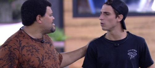 """""""BBB20"""": Babu e Filipe discutem e gera confusão: 'Quem disse que esse é o seu cantinho?'. (Reprodução/TV Globo)"""