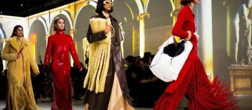 Burberry are transforming from fashion to safety - picture courtesy of ft.com