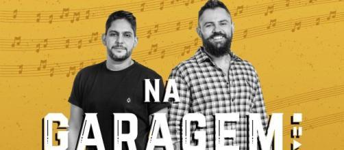 Intitulado de 'Na Garagem', show de Jorge e Mateus pelo Youtube atende a diversos pedidos de fãs. (Reprodução/Twitter oficial da dupla)