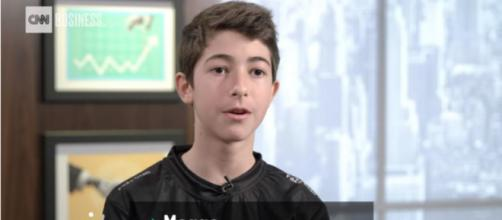 Things escalated quickly for 'Fortnite' pro FaZe Megga. [Image source: CNN/YouTube]