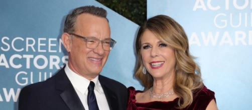 Tom Hanks' wife Rita Wilson (Image via HollywoodNews/Youtube)