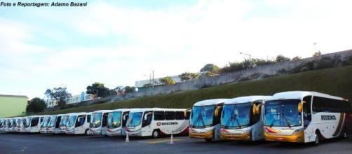 Várias empresas estão com garagens lotadas de ônibus. (Arquivo Blasting News)