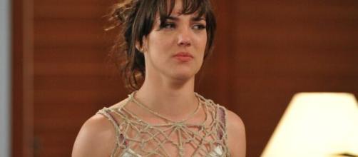 """Adriana Birolli interpretou Patrícia na novela """"Fina Estampa"""" da TV Globo. (Reprodução: TV Globo)"""