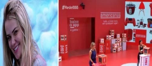 """""""BBB20"""": programa beneficia Marcela por regra não informada na prova. (Reprodução/TV Globo)"""