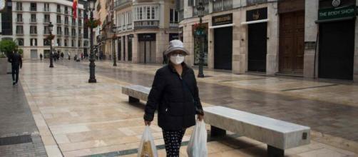 Calle Larios de Málaga prácticamente vacía - independent.co.uk