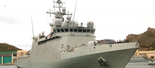 """El """"Audaz"""" zarpa al Golfo de Guinea en misión de seguridad marítima"""