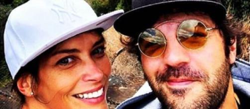 Fernanda Lessa e il marito Luca Zocchi.