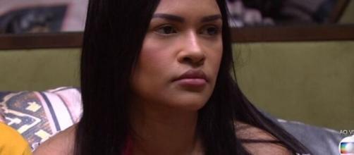 Flayslane fala sobre Gizelly: 'O jogo dela é sujo, queria que eu saísse linchada'. (Reprodução/TV Globo)