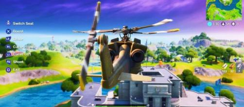 Fortnite Leak Reveals Helicopter Stats And Abilities Vehicle To