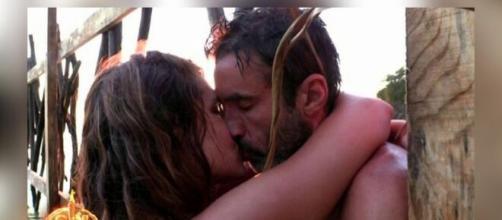 Hugo Sierra e Ivana Icardi protagonizaron uno de los momentos más románticos del programa de televisión Supervivientes 2020