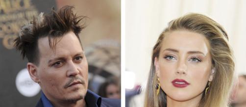 Johnny Depp e Amber Heard é um dos casais mais complicados de Hlolywood, segundo site. (Foto: Arquivo Blastingnews)