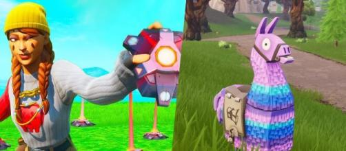 """New """"Fortnite"""" update brings Proximity Mine and Supply Llama. [Image Credit: Own work]"""