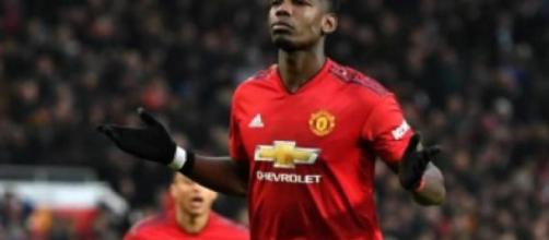 Paul Pogba, centrocampista del Manchester United.