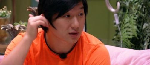 Pyong lidera rejeição nas pesquisas do paredão triplo. (Reprodução/TV Globo)