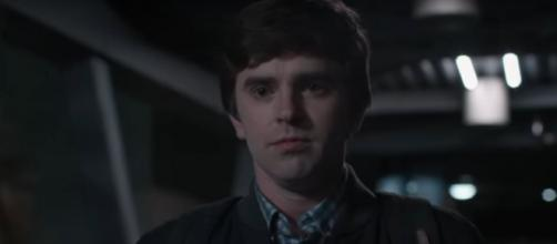 """""""The Good Doctor"""" tries to show Lea that he can handle her """"bad habits"""" but she doesn't think a date is worth a try.[Image source:ABC-YouTube]"""