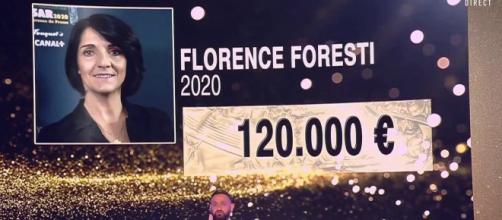 TPMP : Cyril Hanouna déclare que Florence Foresti aurait touché 130 000 euros pour présenter les Césars. Credit : C8 Capture