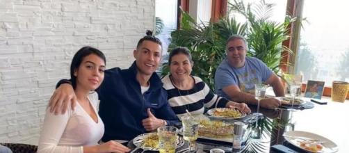 Último encontro de Dolores com Cristiano registrado em suas redes sociais. (Reprodução/Instagram/@cristiano)