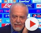De Laurentiis potrebbe decidere per il taglio stipendi come fatto dalla Juventus.