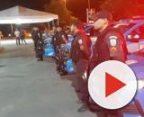 Solidariedade: Polícias Militares fazem homenagem para profissionais da área de saúde. (Arquivo Blasting News)