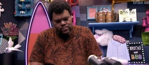 Babu durante sessão de raio-x. ( Reprodução/TV Globo )