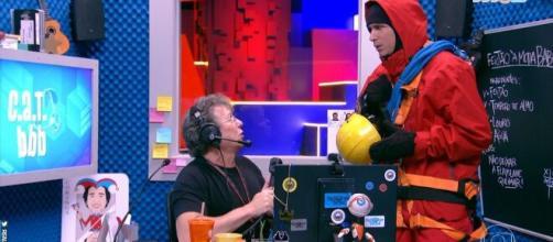 """""""BBB 20"""": Boninho Boninho revela que acontecerá a festa top 10. (Reprodução/TV Globo)"""