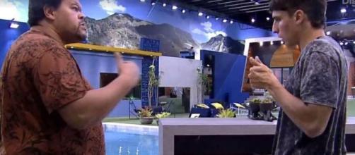 'BBB20': Babu e Prior tentam se entender. (Reprodução/TV Globo)