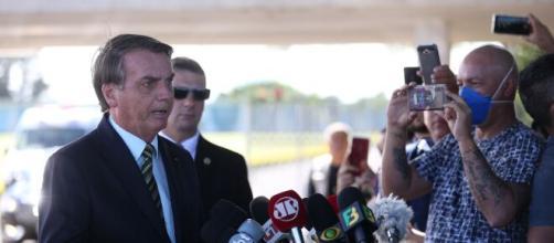Bolsonaro diz que não discutirá sobre posts apagados pelo Twitter (arquivo Basting News)