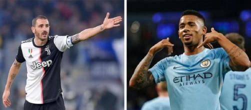 Calciomercato Juventus, possibile scambio tra Bonucci e Gabriel Jesus col Manchester City.