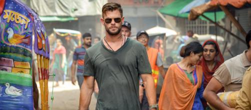 Chris Hemsworth: les nouvelles images de son prochain films sur Netflix. Credit : JASIN BOLAND/NETFLIX