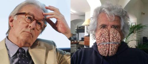 Coronavirus, Vittorio Feltri stronca la proposta del reddito universale di Beppe Grillo