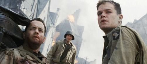 """Famosos do filme """"O Resgate do Soldado Ryan"""" na atualidade. (Reprodução/Paramount Pictures)"""