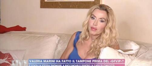 Gf Vip, Valeria Marini: 'Prima di entrare non ho fatto il tampone per il Coronavirus'