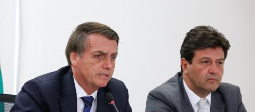 Jair Bolsonaro e Luiz Henrique estariam em rota de colisão. (Arquivo Blasting News)