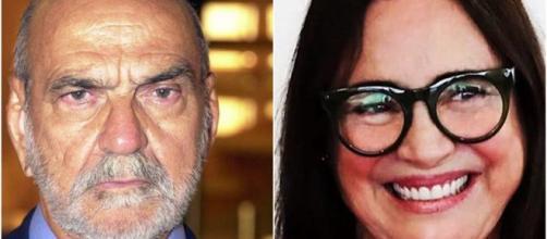 Lima Duarte afirmou que Regina Duarte teria se encantado por Bolsonaro. (Reprodução/TV Globo/Instagram/@reginaduarte)