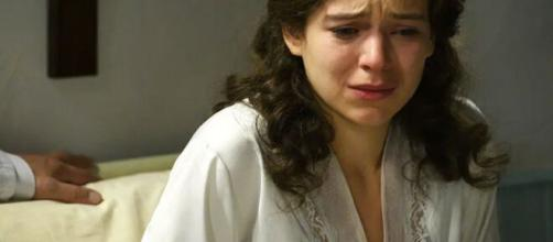 Una Vita, spoiler spagnoli: Genoveva apprende che la sua gravidanza è a rischio.