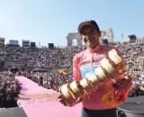 Richard Carapaz, vincitore dell'ultimo Giro d'Italia