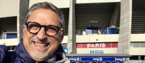 Carlo Alvino, giornalista sportivo noto tifoso napoletano.