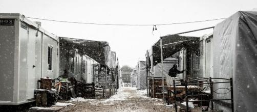 Hasta los campos de refugiados de Grecia ha llegado el coronavirus.