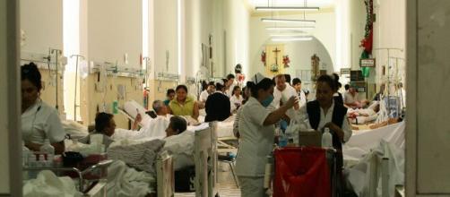 hospitales saturados por la pandemia