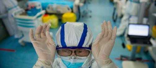 Ospedale attrezzato contro il coronavirus.