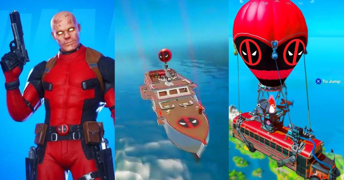 Deadpool Fortnite Gameplay Fortnite Deadpool Event Is Coming Soon Bringing New Place On The Map And A New Weapon