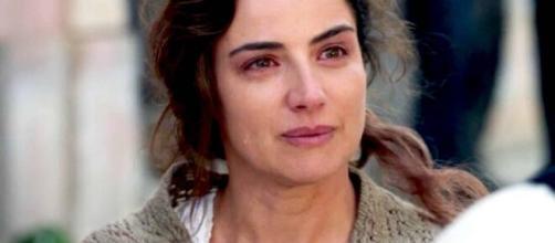 Carmela, protagonista della mini serie La vita promessa 2